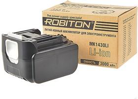 Фото 1/2 ROBITON MK1430LI для электроинструментов Makita, Аккумуляторная сборка