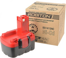 Фото 1/2 ROBITON BS1415NC для электроинструментов Bosch, Аккумуляторная сборка