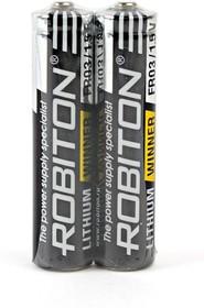 ROBITON WINNER R-FR03-SR2 FR03 SR2, Элемент питания
