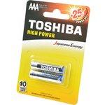 TOSHIBA HIGH POWER LR03GCP BP-2 LR03 BL2, Элемент питания