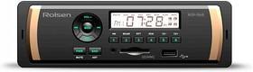 Автомагнитола ROLSEN RCR-104B, USB, SD/MMC
