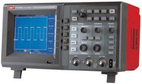 Фото 1/2 UTD2102C (13-0014), Осциллограф цифровой, 2 канала х 100МГц, USB, ЖК дисплей