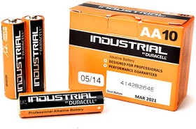 Фото 1/2 Industrial LR6 (MN1500/А316/AA)10, Элемент питания алкалиновый (10шт) 1.5В