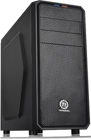Корпус ATX THERMALTAKE Versa H25, Midi-Tower, без БП, черный