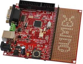 Фото 1/2 STM32-P405, Отладочная плата на базе STM32F405RGT6 (CORTEX M4, 168МГц, Flash 1024КБ, SRAM 192КБ)