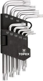 Фото 1/2 35D960, Ключи шестигранные Torx T10-T50, 9 шт