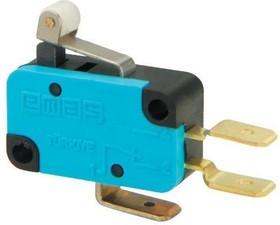 MK1MIP1, Микропереключатель 10А 250VAC с роликом