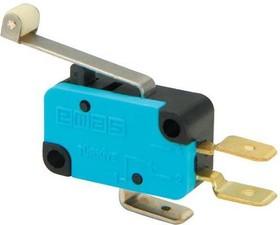 MK1MIP2, Микропереключатель 10А 250VAC с роликом