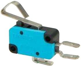 MK1KIM62G, Микропереключатель 10А 250VAC с изогнутой лапкой