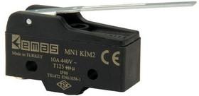 MN1KIM2, Микропереключатель 10А 440VAC с лапкой