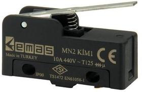 MN2KIM1, Микропереключатель 10А 440VAC с лапкой