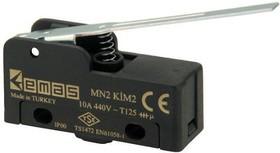 MN2KIM2, Микропереключатель 10А 440VAC с лапкой