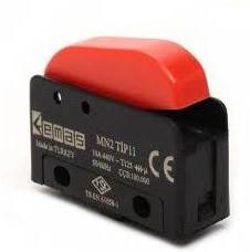 MN2TIP11, Микропереключатель 10А 440VAC с клавишей 1НО