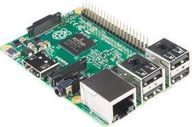Фото 1/4 Raspberry Pi 2 Model B, Одноплатный компьютер на базе процессора Broadcom BCM2836