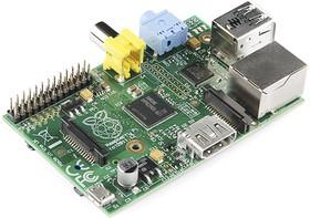 Фото 1/3 Raspberry Pi Model B, Одноплатный компьютер на базе процессора Broadcom BCM2835
