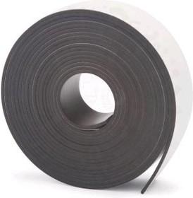 Винил магнитный с клеевым слоем в рулоне 25,4*1 мм (3 м)