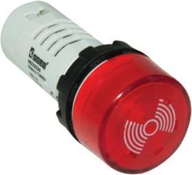 MBZS110S, Зуммер с подсветкой 110VAC