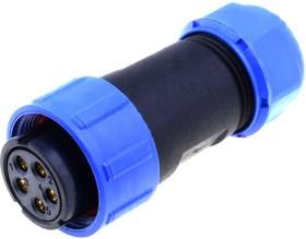 SP2110/S5, Разъем на кабель влагозащищенный (м) 5pin IP68