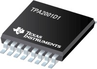 TPA2001D1PW, Аудио усилитель 1Вт моно класс-D [TSSOP16]