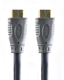 BGL1142 (SG1142), Шнур HDMI вилка - HDMI вилка с ф/фильтрами, GOLD, 5 м