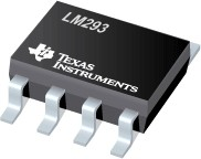 LM293DR, Двойной дифференциальный компаратор, маломощный, с малым напряжением смещения [SO-8]