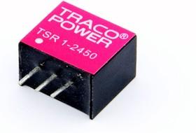 TSR 1-2450, DC/DC преобразователь, 5Вт, вход 6.5-36В, выход 5В/1А