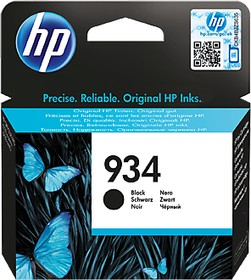 Картридж HP 934 C2P19AE, черный