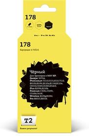 Картридж T2 CB316HE 178 IC-H316, черный