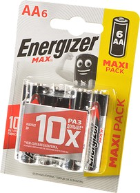Energizer MAX LR6 BL6, Элемент питания
