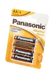 Panasonic Alkaline Power LR6APB/4BP RU LR6 BL4, Элемент питания