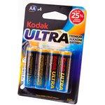 Kodak ULTRA PREMIUM LR6 BL4, Элемент питания