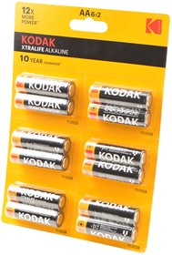 Kodak XTRALIFE ALKALINE LR6 BL12, Элемент питания