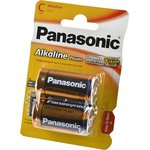 Panasonic Alkaline Power LR14APB/2BP LR14 BL2, Элемент питания