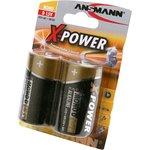 ANSMANN X-POWER 5015633 LR20 BL2, Элемент питания