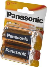 Panasonic Alkaline Power LR20APB/2BP LR20 BL2, Элемент питания