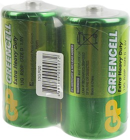GP Greencell 13G/R20 SR2, Элемент питания