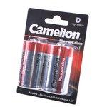 Camelion Plus Alkaline LR20-BP2 LR20 BL2, Элемент питания