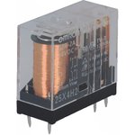 G2R-2A-24DC, Реле электромагнитное, DPST-NO, Uобмотки 24VDC, 5A/250VAC