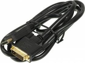 Кабель Display Port NINGBO X-storm dp-dvi-1.8m-br, DisplayPort (m) - DVI-D Dual Link (m), GOLD , 1.8м, блистер, черный