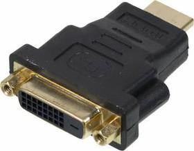 Переходник Video NINGBO HDMI (m) - DVI-D(f), GOLD , черный [cab nin hdmi(m)/dvi-d(f)]
