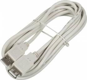 Кабель-удлинитель USB2.0 NINGBO USB A (m) - USB A (f), 3м, блистер [usb2.0-am-af-3-br]