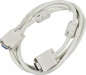 Кабель-удлинитель SVGA NINGBO CAB015S-06F, VGA HD15 (m) - VGA HD15 (f), ферритовый фильтр , 1.8м