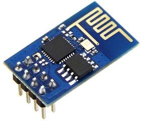 Фото 1/3 ESP8266 Wi-Fi module, Встраиваемый модуль Wi-Fi на базе чипа ESP8266