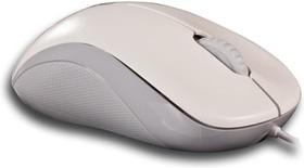 Мышь RAPOO N1130 оптическая проводная USB, белый и серый [13743]