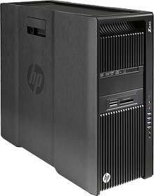 Рабочая станция HP Z840, Intel Xeon E5-2680 v3, DDR4 32Гб, 512Гб(SSD), DVD-RW, Windows 7 Professional, черный [g1x63ea]