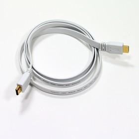 Фото 1/2 HDFW3, Кабель HDMI (M) - HDMI (M), вер. 1.4, поддержка Ethernet/3D, плоский, 3м
