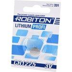 Фото 2/2 ROBITON PROFI R-CR1225-BL1, Элемент питания