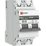 Выключатель нагрузки ВН-63, 2P 63А EKF PROxima | SL63-2-63-pro | EKF