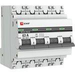 Выключатель нагрузки ВН-63, 4P 63А EKF PROxima | SL63-4-63-pro | EKF