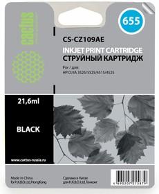 Картридж CACTUS CS-CZ109AE №655, черный